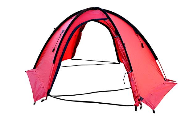 Палатка SPACE PRO 3 изнутри