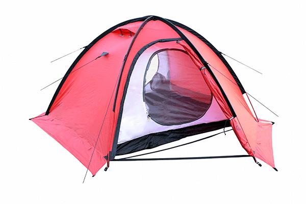 Палатка SPACE PRO 3 в полной сборке