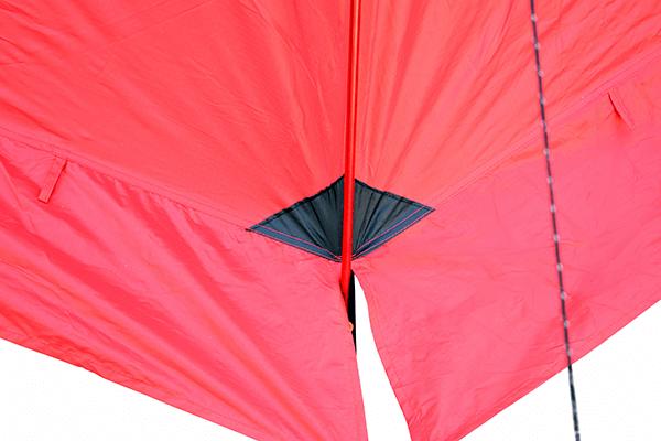 Палатка SPACE PRO 3 угол наружный
