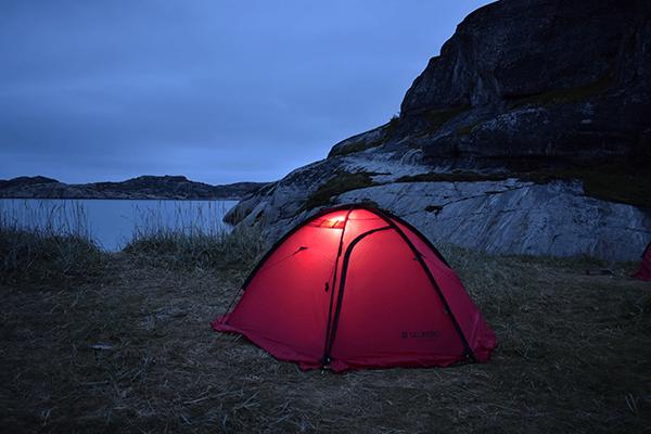 Палатка SPACE PRO 3 на природе