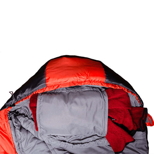 Спальный мешок BTRACE NORD 7000 серый