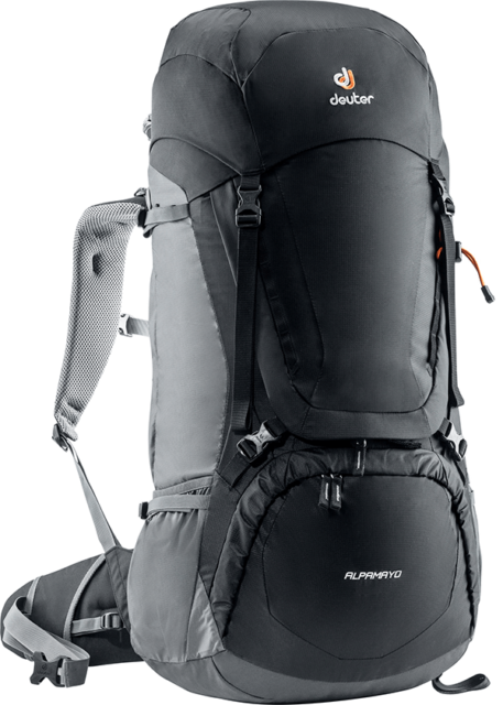 Рюкзак Deuter Alpamayo 75+10 Black/Graphite